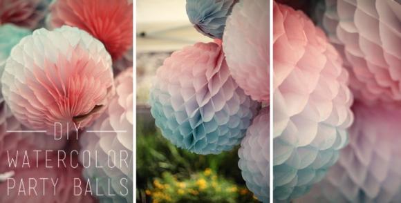 DIY Honeycomb Tissue Balls