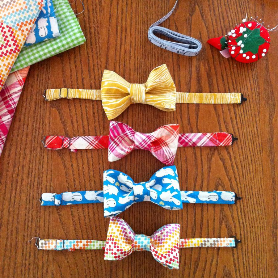 Christmas Bow Ties For Boys