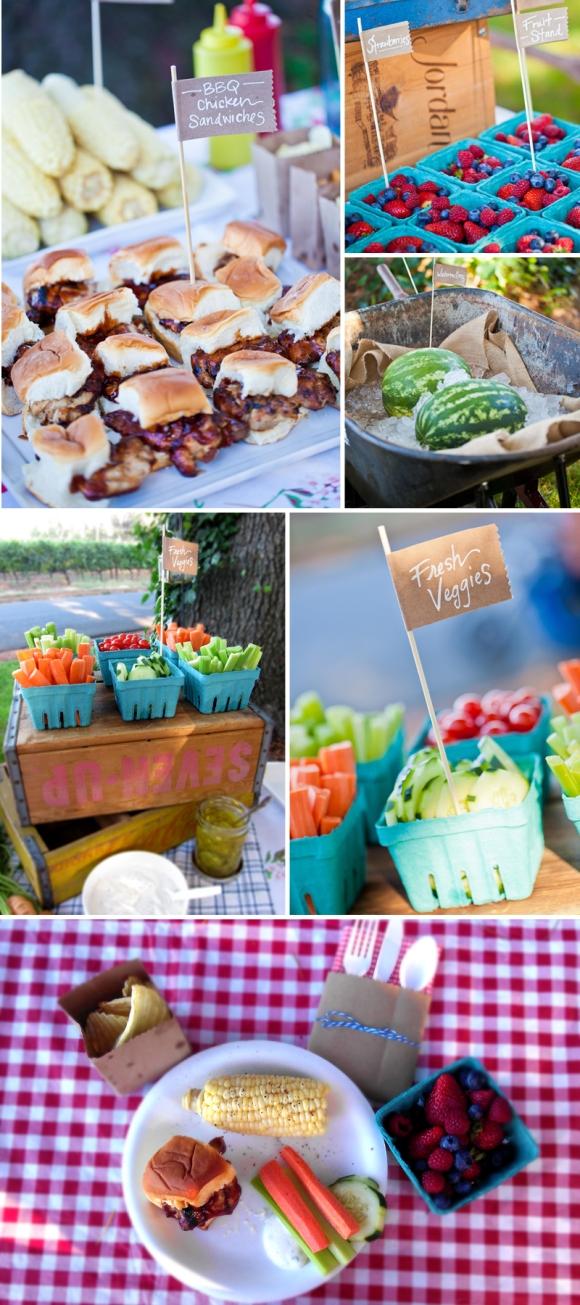 Summer Farmer S Market Birthday Party Eyeheartprettythings