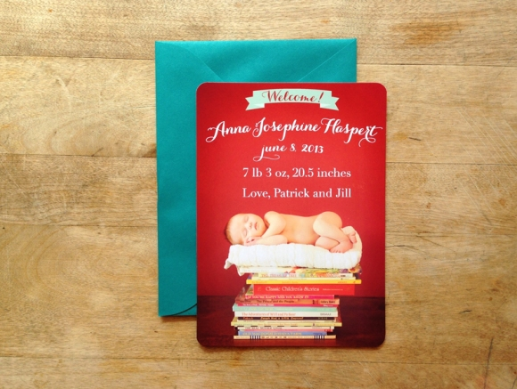 eyeheartprettythings-stationery-baby-announcement-card-books