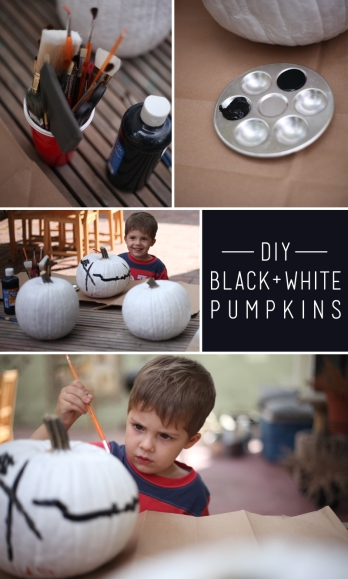 eyeheartprettythings-halloween-blackwhite-pumpkins-diy