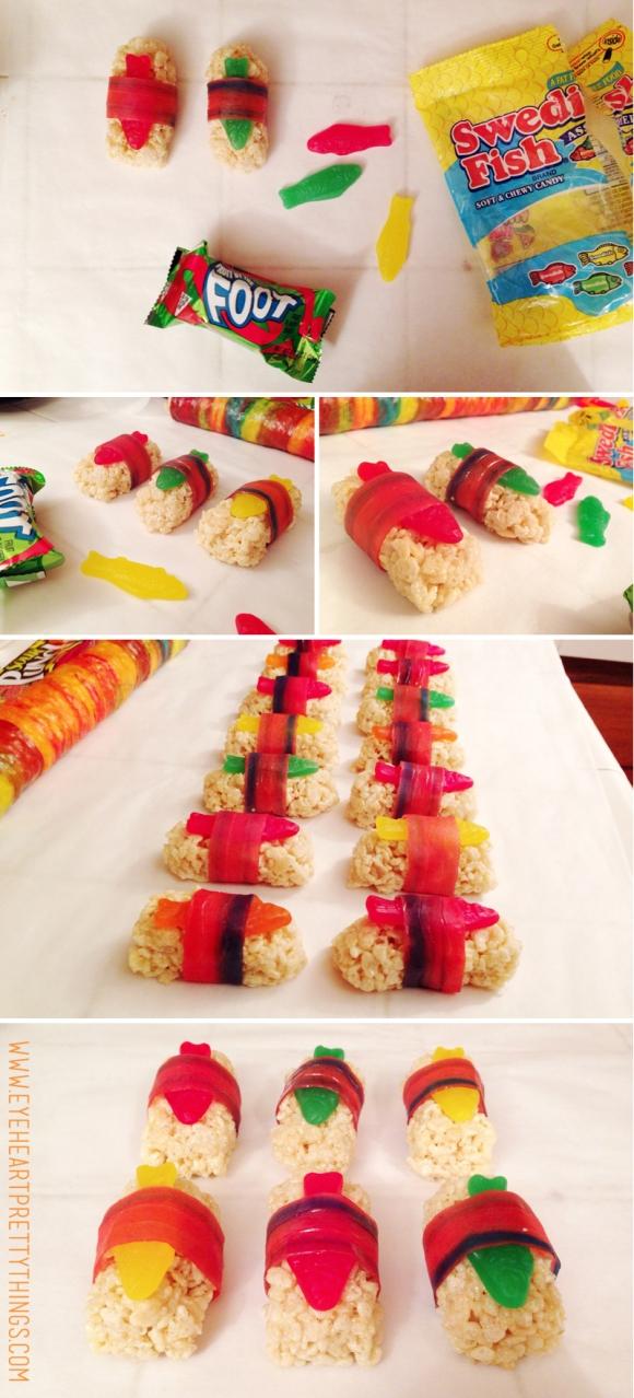 eyeheartprettythings-ninja-birthday-candysushi-sashimi