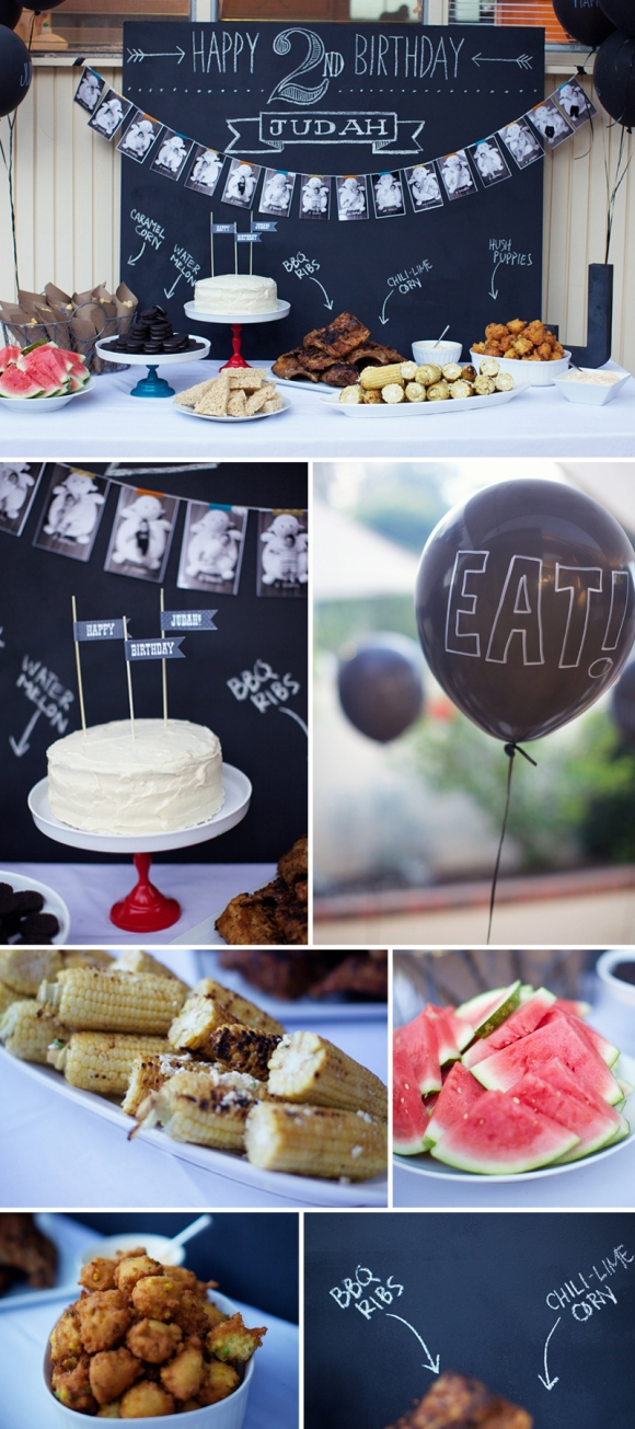 eyeheartprettythings-chalkboard-birthday-party-food